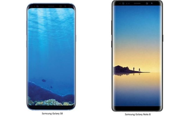 Официальное изображение Samsung Galaxy Note 8 попало в сеть